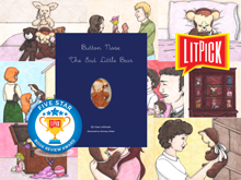 YouTube book review video of Button Nose the Sad Little Bear by Gina LoBiondo for LitPick student book reviews