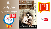YouTube book review video of The Candy Store by Michael Poague for LitPick student book reviews
