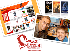 LitPick was originally developed as Flamingnet Book Reviews by Seth and Gary Cassel