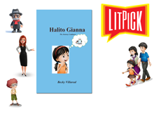 YouTube book review video of Halito Gianna by Beck Villareal for LitPick student book reviews