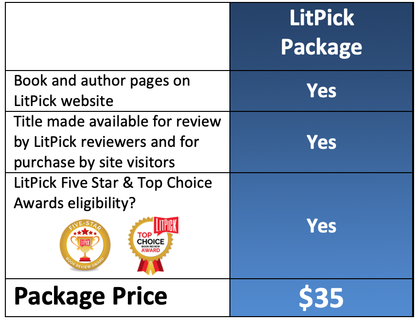LitPick Book Review Package and Book Awards