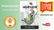 YouTUbe book review video of Nickerbacher by Terry John Barto for LitPick student book reviews