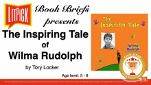 The Inspiring Tale of Wilma Rudolph LitPick Student Book Reviews Flamingnet