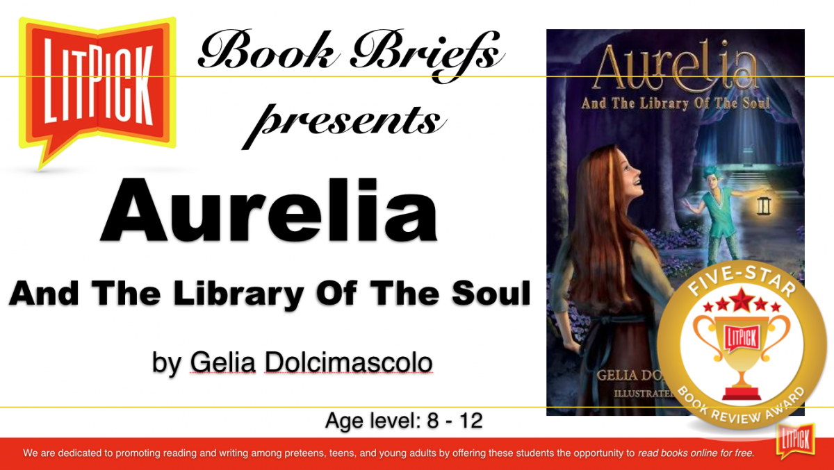 Aurelia student book review by LitPick Student Book Reviews