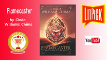 YouTube book review video of Flamecaster by Cinda Williams Chima for LitPick student book reviews