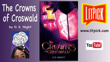 YouTube book review video by LitPick student book reviews of The Crowns of Croswald.