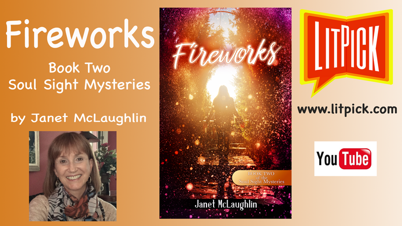 Fireworks by Janet McLaughlin YouTube LitPick book review video