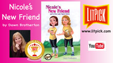 Nicole's New Friend by Dawn Brotherton YouTube book review video reviewed by a LitPick student book reviewer.