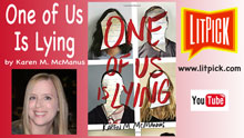 YouTube book review video One of Us is Lying by Karen M. McManus for LitPick student book reviews.
