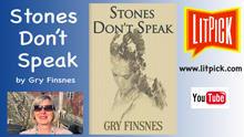 YouTube book review video of Stones Don't Speak by Gary Finsnes for LitPick student book reviews.