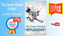 YouTube book review video of The Career-minded Student by Neil O'Donnell for LitPick student book reviews