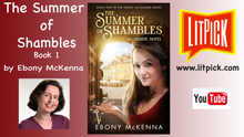 The Summer of Shambles (Ondine Book #1) by Ebony McKenna YouTube book review video by LitPick student book reviews.